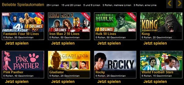 grand mondial casino spielen
