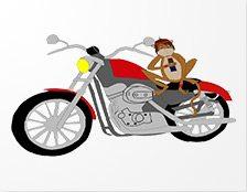 Motorbike Monkey Spielautomat