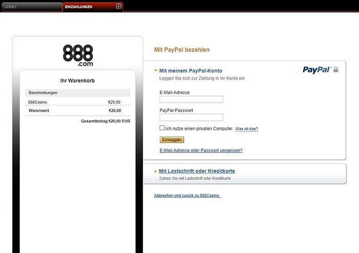 online casino paypal jetzt spilen