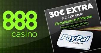 casino mit paypal einzahlen