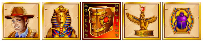 Book of Ra Symbole