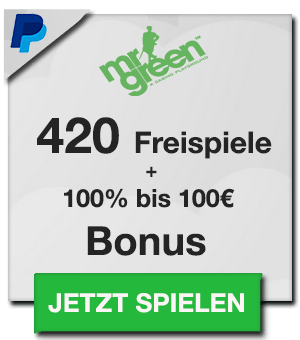 Mr Green Casino Bonus