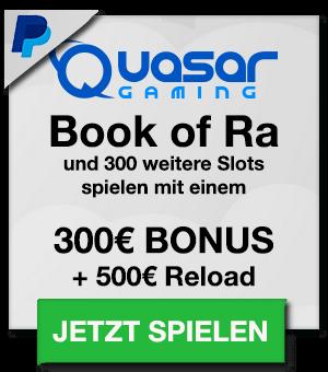 Quasar Casino Bonus