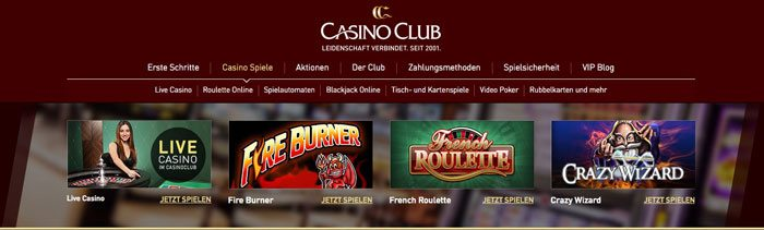 casino club test